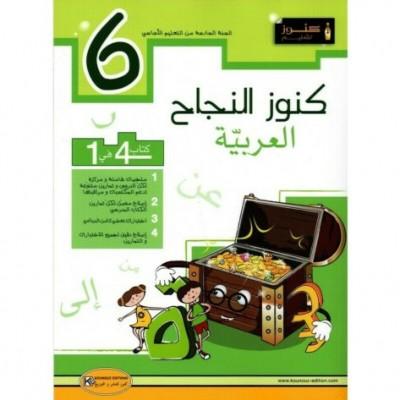 6 كنوز النجاح في العربيةسنة