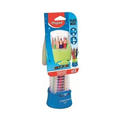 Flex box de 12 crayons de...